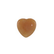 GEMSTONE BEADS RED AVENTURINE – BEAD CHARM HEART 20MM